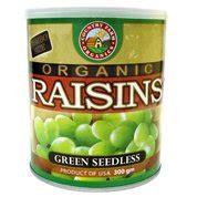 Sunview Organic Raisin Green Seedless 425 G cf organic jumbo green raisin 300g products malaysia cf