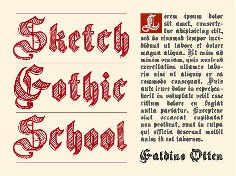 sketchbook font sketch school font 183 1001 fonts