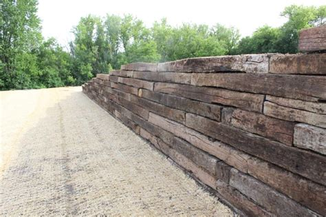 railroad ties retaining wall cost bitdigest design why use the railroad tie retaining wall
