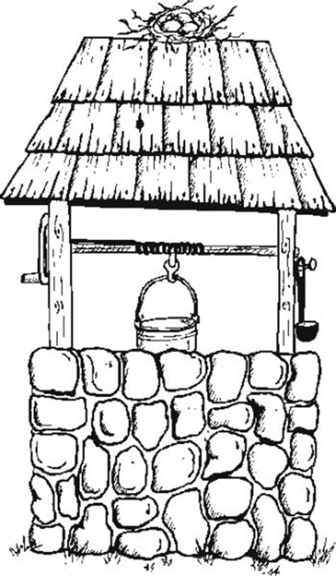free coloring pages of water well wells of colouring pages clipart best clipart best