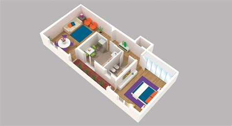 Logiciel Amenagement Interieur faire une chambre en 3d loft cr avec un logiciel de 3d