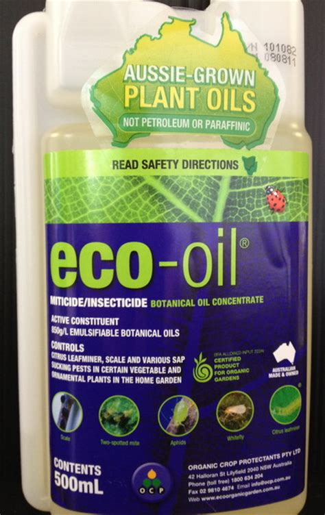 insecticide eco oil  ml dawsons garden world