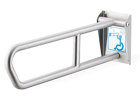 swing up grab bars swing up grab bar 29 quot length bradley corporation