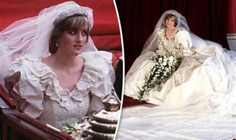prince charles princess diana princess diana was sewn into wedding dress after dramatic weight loss in weeks royal news