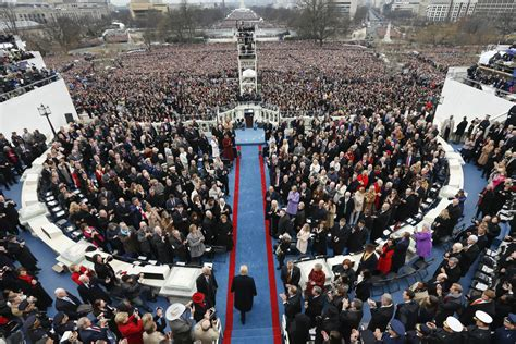 picture of inauguration crowd inauguration of president donald j trump