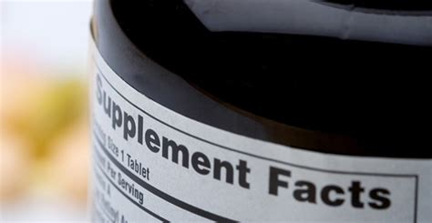 supplement claims the most health supplement claims