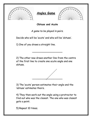 Angles Word Problems Worksheet by Angles Year 5 By Sarah R Ford Teaching Resources Tes