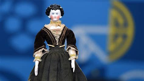 porcelain doll appraiser german fancy hair china doll ca 1880 antiques roadshow
