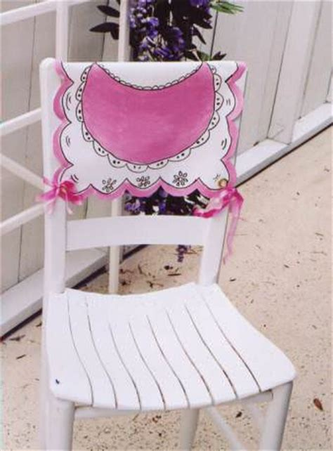 How To Make Your Own Chair Sashes by 25 Gorgeous Chair Covers And Festive Chair Backs To Make