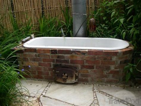 outdoor bathtub wood fired 1000 images about wood fired bath hot tub on pinterest
