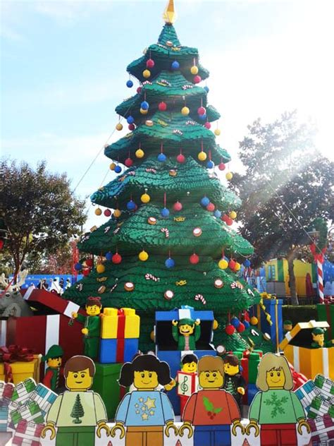 holiday snow days at legoland california toddler trails