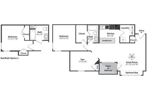 den floor plan one bedroom den floor plan napcincinnati