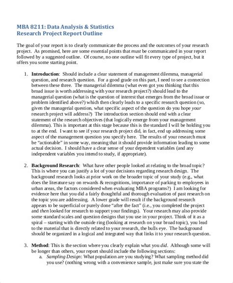 research project report template research project report a project report on analytical