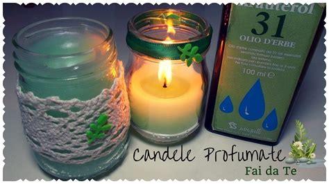candele profumate fai da te candele profumate fai da te alle erbe aromatiche tutorial