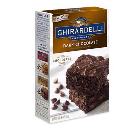 ghirardelli chocolate chocolate brownie mix ghirardelli