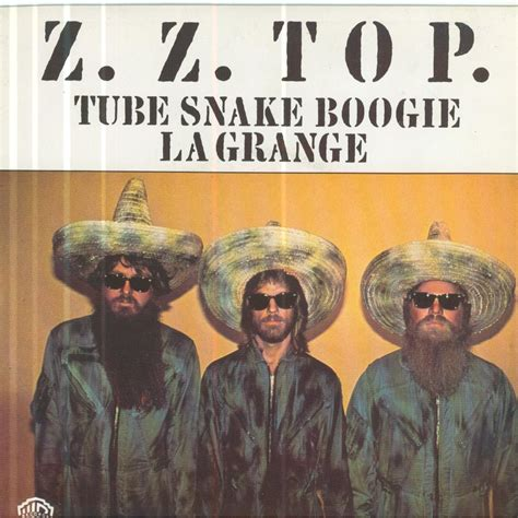 Zztop La Grange by Zz Top Nake Boogie La Grange 7inch Sp For Sale