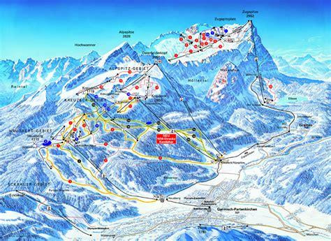 garmisch partenkirchen piste map free downloadable piste