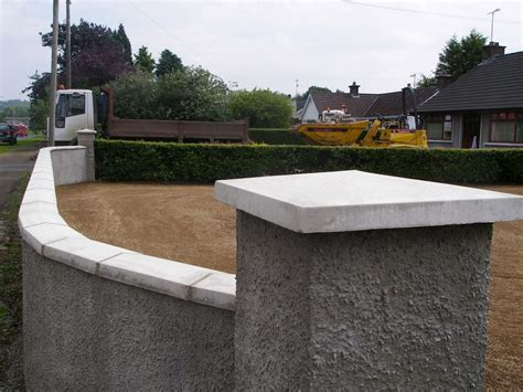 Concrete Wall Caps - wall copings and pillar caps concrete
