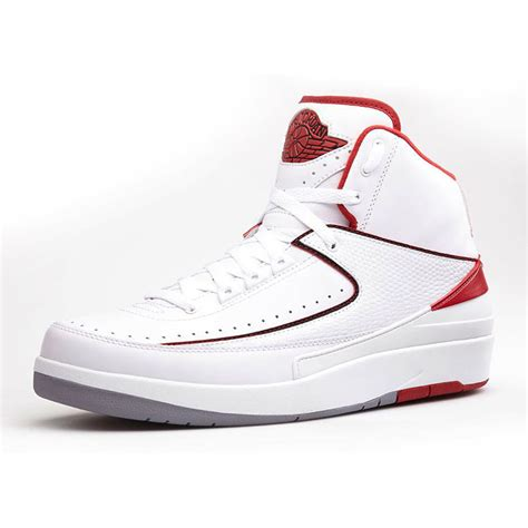 basketball shoes size 2 nike air 2 ii retro mens 385475 102 white
