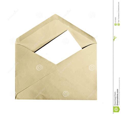 Letter Envelope Vintage Envelope With Letter Inside Stock Photo Image 12713020
