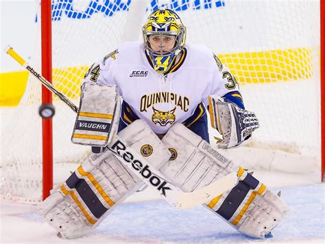 Quinnipiac Mba Part Time by Former Cgs Participant Signs Pro Contract Carroll Goalie