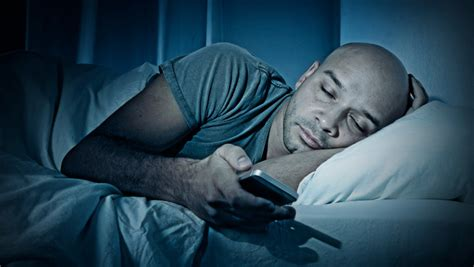 phone in bed cell phone use before bedtime might impact sleep and