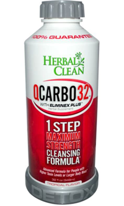 Q Clean Detox by Q Carbo 32 Liquid Tropical 32 Fl Oz 27 08ea From Herbal