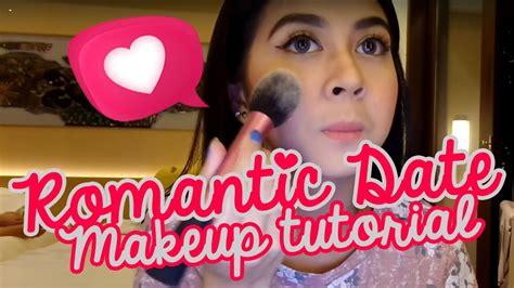 tutorial makeup kesha ratuliu kesha ratuliu romantic date makeup tutorial youtube