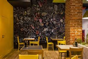 Indoor Wall Murals trops food fast food restaurant by t design sofia