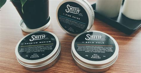 Pomade Smith Water Based unboxing smith s pomade based smith supply