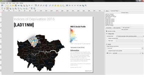 qgis print tutorial how to create a histogram legend in qgis print composer