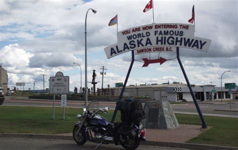 Motorrad Fahren Autobahn by The Alaska Highway By Motorcycle Explore Bc
