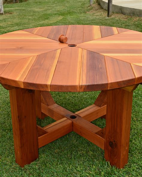 Redwood Patio Table Redwood Patio Table San Francisco Patio Tables Built To Last Decades Forever Redwood The
