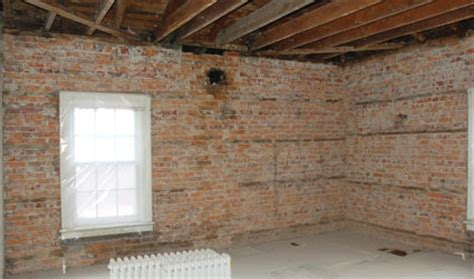 Cleaning Interior Brick by Brick De Painting