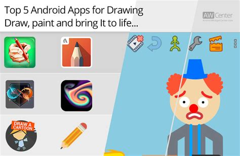 drawing apps for android top 5 android apps for drawing draw paint and bring it to