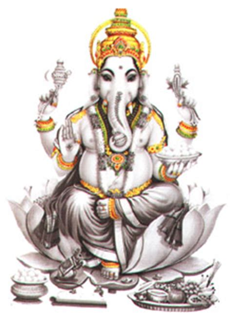 Sigma Ganesha hindu deities ganapathi in all major international