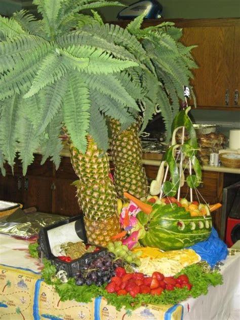 fruit palm tree kit pin pineapple palm tree tropical fruit display kit