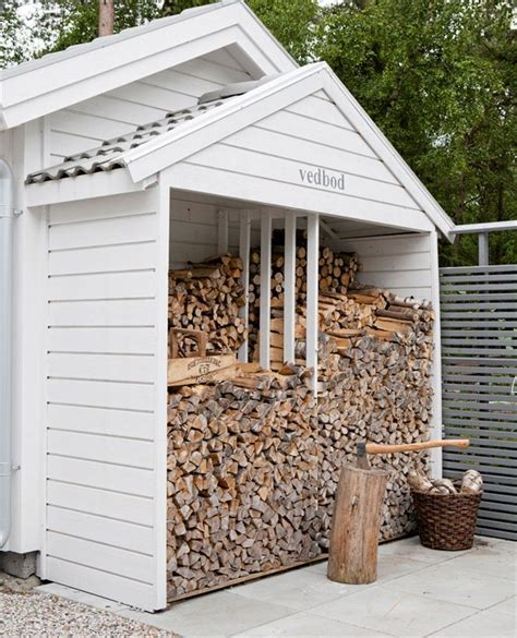 A Wood Shed by Lean To Wood Shed Home Landscape