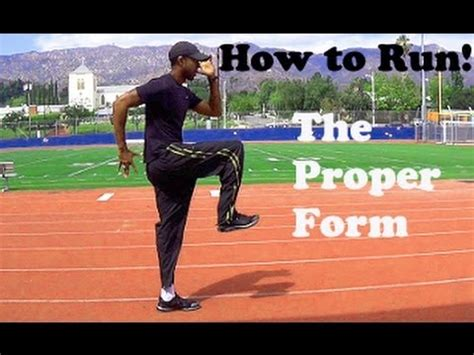 how to get better at sprinting how to run sprint proper form