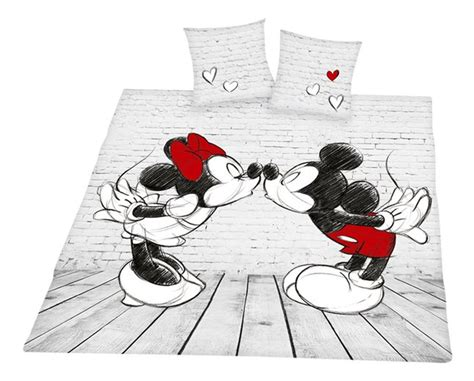 Couette Mickey Minnie by Housse De Couette Mickey Mouse Minnie Coton Collishop