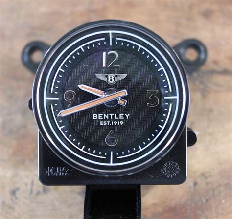 bentley breitling clock genuine breitling clock for a bentley continental gt
