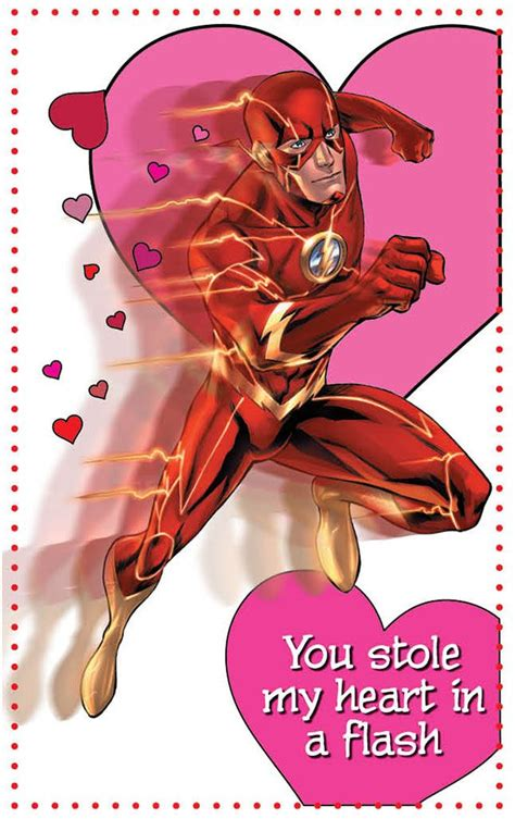 superheroes valentines day the flash the flash comic