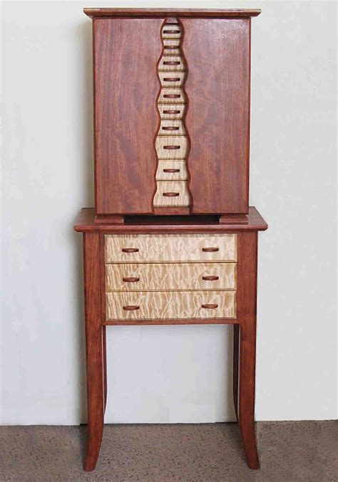 standing armoire jewelry box standing jewelry boxes with necklace holders