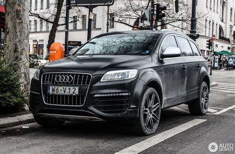 Audi Q7 V12 Tdi Price by Audi Q7 V12 Tdi 17 January 2016 Autogespot