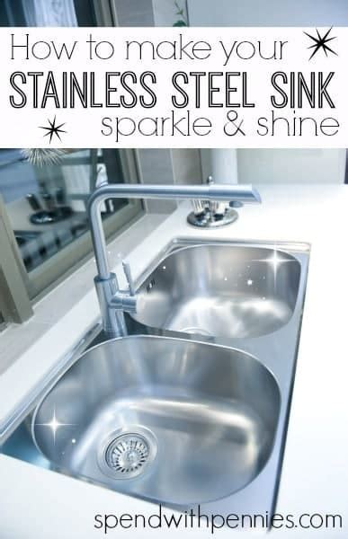 how to make a sink how to make your stainless steel sink sparkle shine
