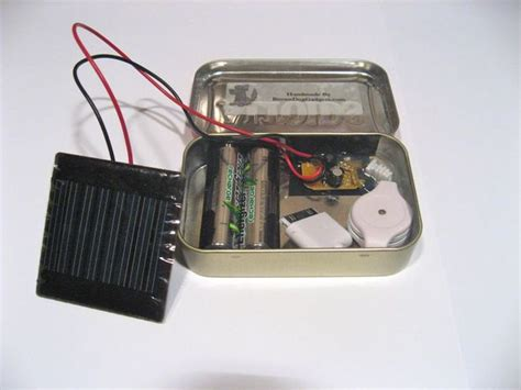 altoids tin phone charger solar altoids iphone ipod charger make it your library