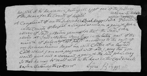 Bristol County Court Records Bristol County Ma Court Records February 28 1776