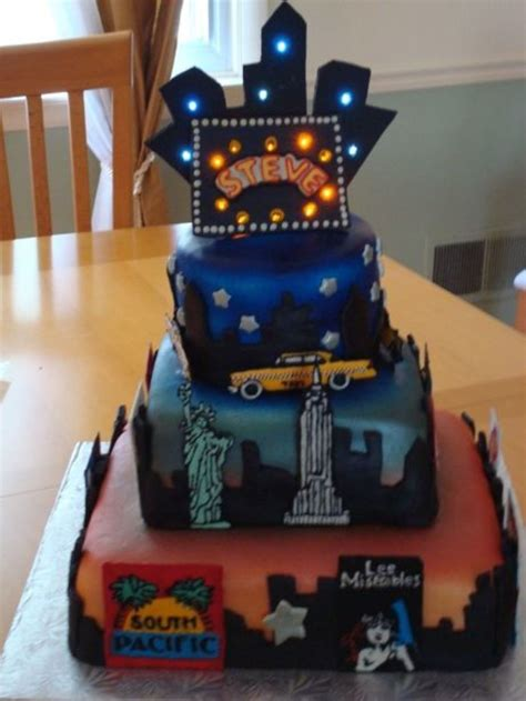 New York Themed Cake Decorations by New York City Birthday Cake Cakecentral