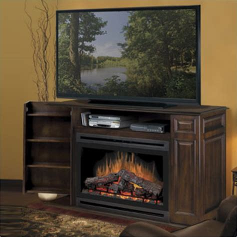 dimplex atwood tv stand w electric burnished fireplace ebay