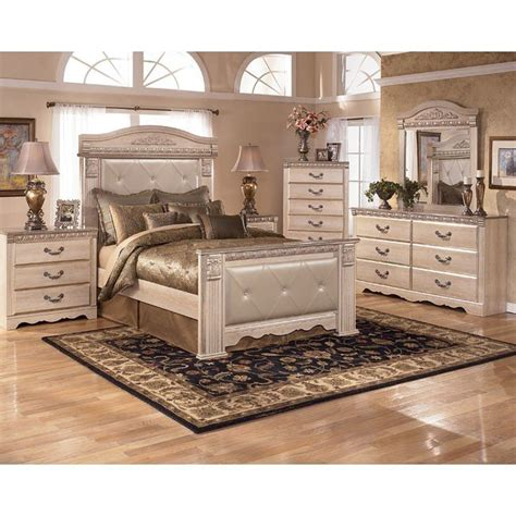 Mansion Bedroom Furniture | silverglade mansion bedroom set signature design by ashley